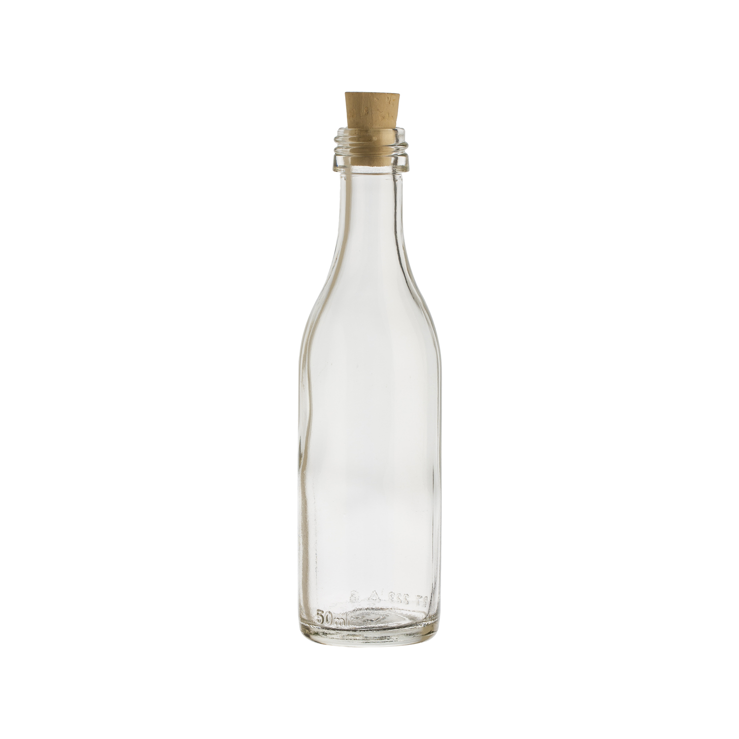Ml Glass Bottle With Cork
