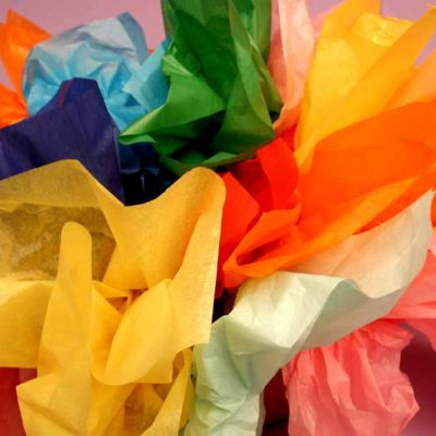 Plain Colour Tissue