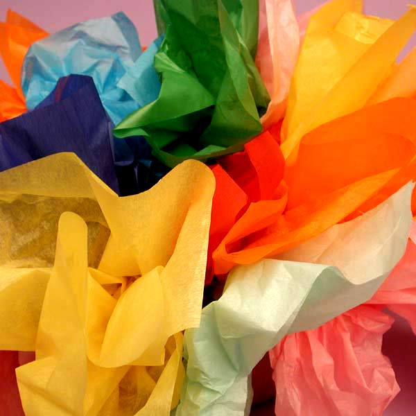 Plain Colour Tissue