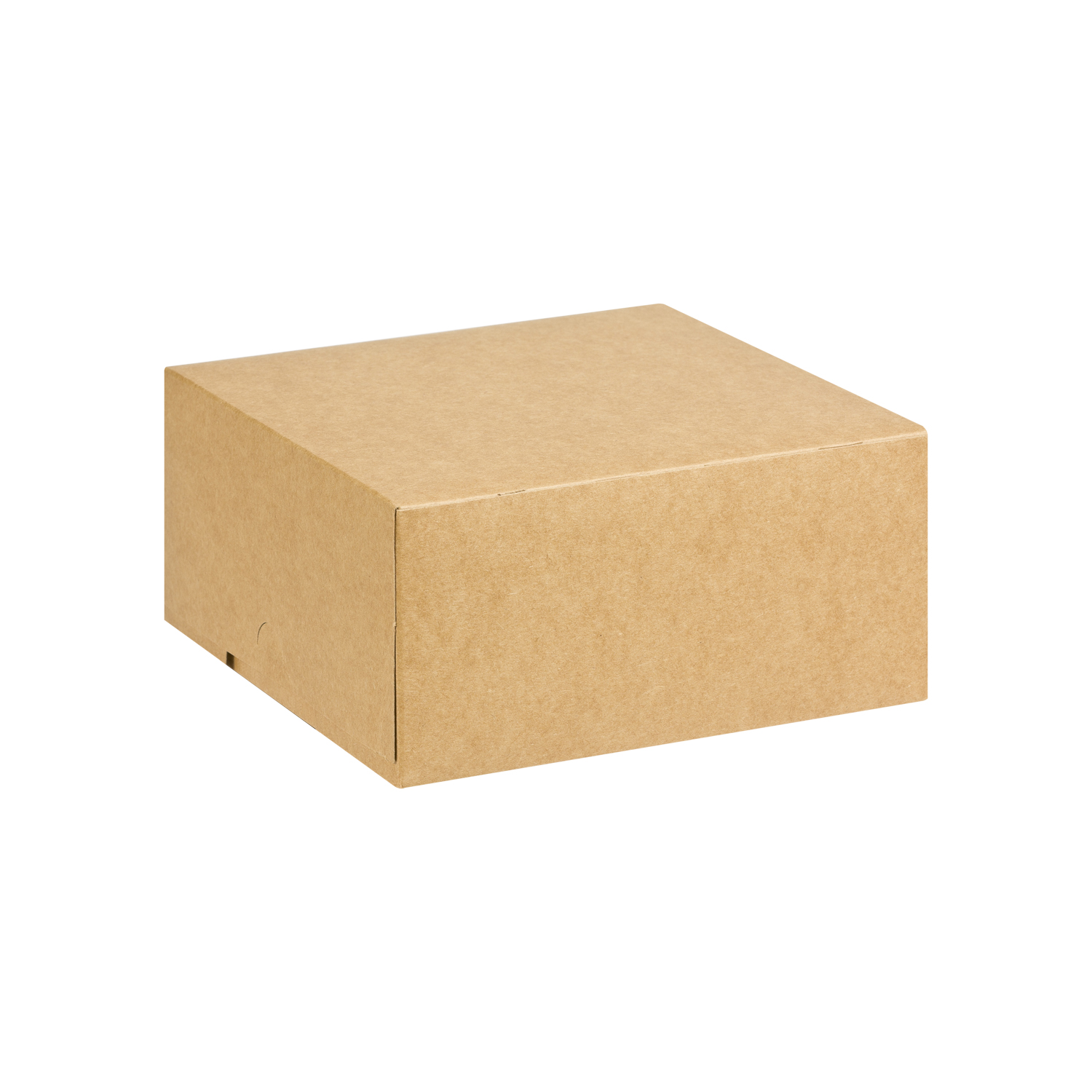 Eco Brown Medium Square Cake Box Merrypak