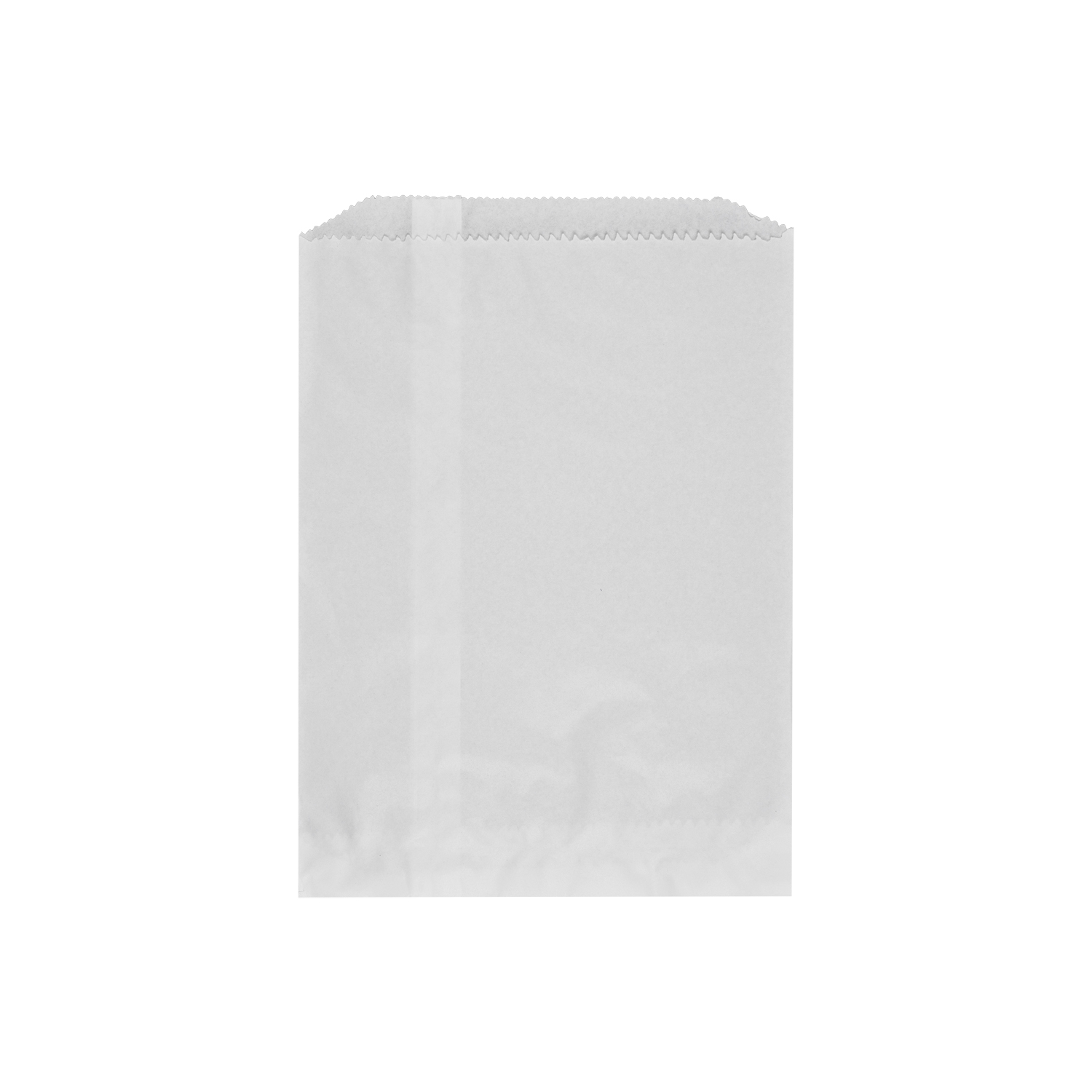 White Flat Packets