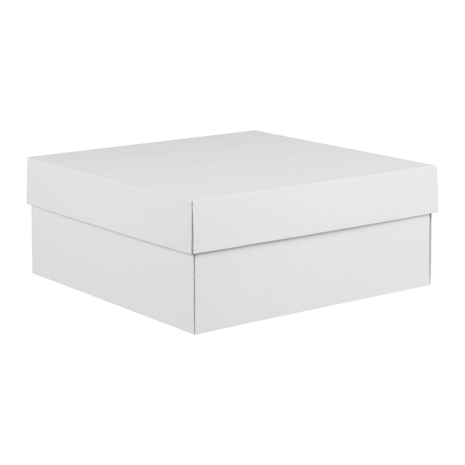 Gloss White Scrapbook Storage Box