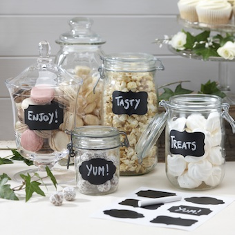 Chalk Board Labels