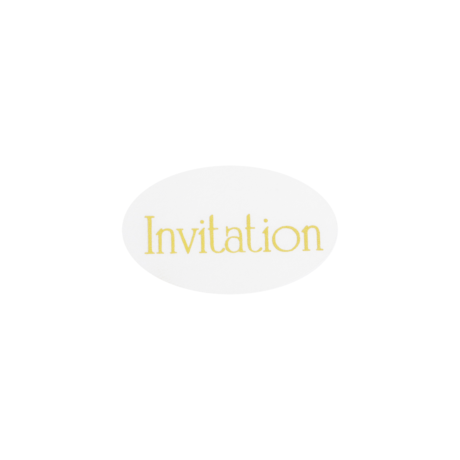 gold on clear invitation stickers merrypak