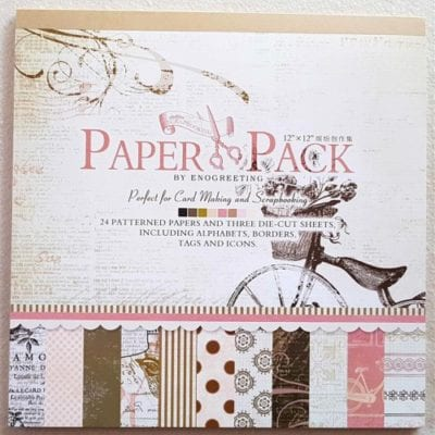 Scrapbook Paper Packs