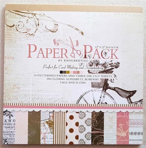Scrapbook Paper Packs