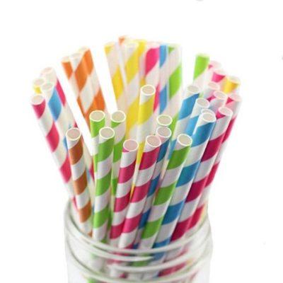 Paper and Bio Straws